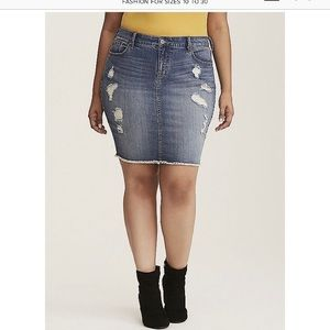 Torrid Denim Skirt